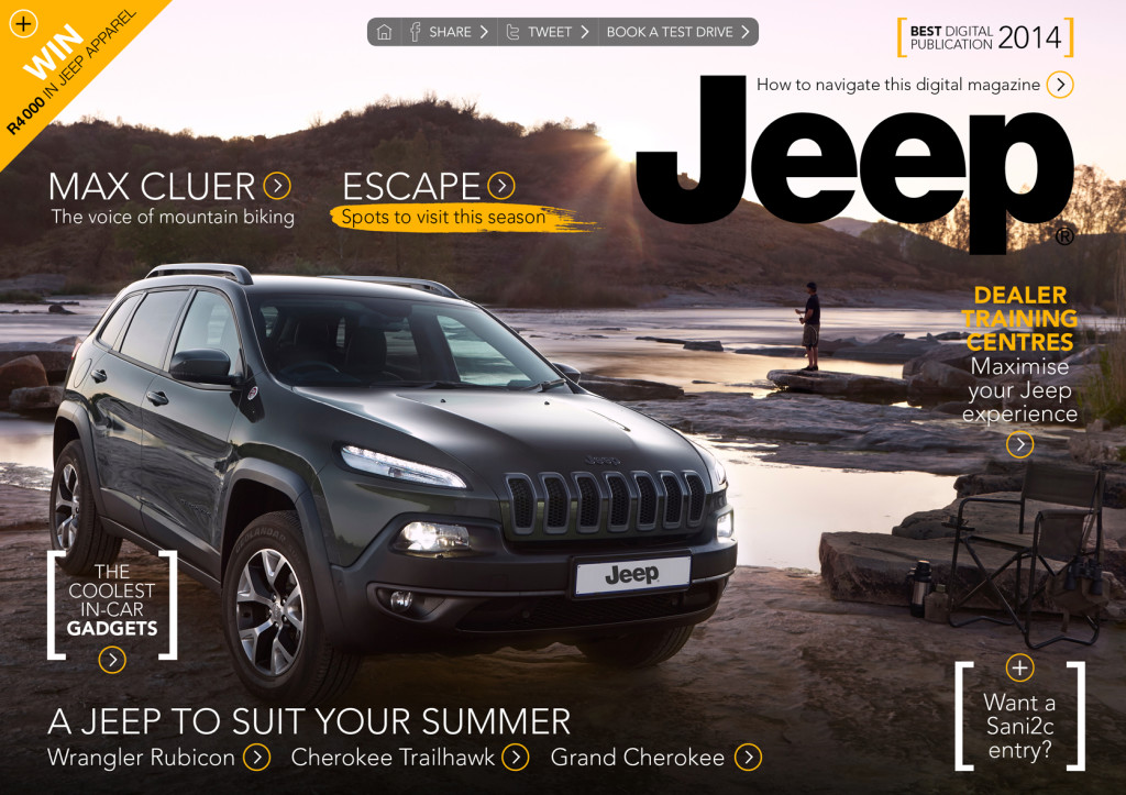 Jeep Digital Magazine Cover